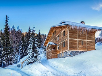selection of ski chalets and apartments
